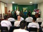 Aula inaugural para capacitação da Guarda Municipal de Além Paraíba