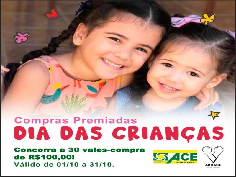 ACEAP promove novas Compras Premiadas para o Dia das Crianças