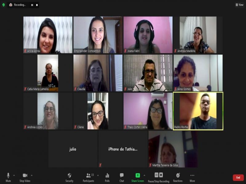 Grupo de Escolas Particulares participa do UP Digital do SEBRAE via ACEAP